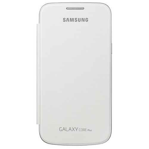 FLIP COVER SAMSUNG SM-G350 GALAXY CORE PLUS WHITE
