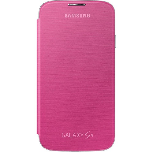 FLIP COVER SAMSUNG GT-I9505 GALAXY S4 PINK