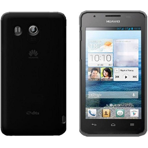 SILICONE CASE HUAWEI ASCEND G525 BLACK