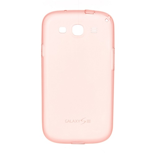PROTECTIVE COVER SAMSUNG GT-I9300 GALAXY S3 PINK TRASPARENT