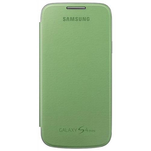 FLIP COVER SAMSUNG GT-I9195 GALAXY S4 MINI GREEN