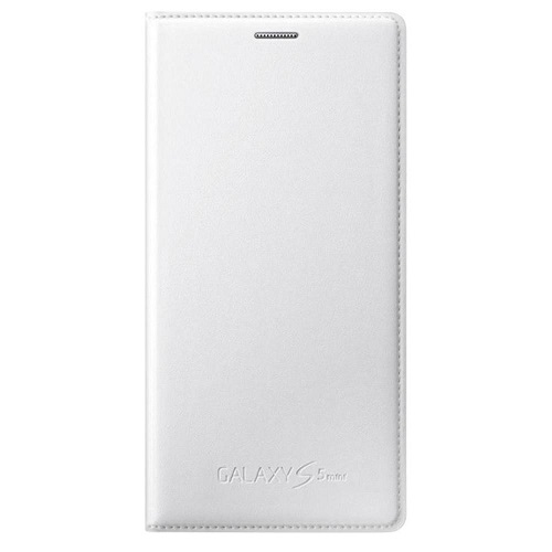 FLIP COVER SAMSUNG SM-G800 GALAXY S5 MINI WHITE