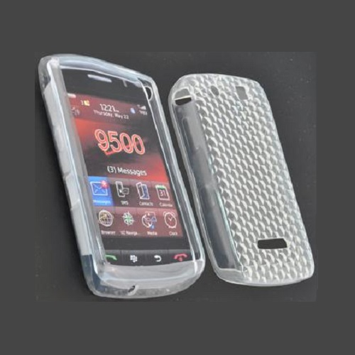 SILICONE CASE BLACKBERRY 9530 STORM WHITE PRISMA
