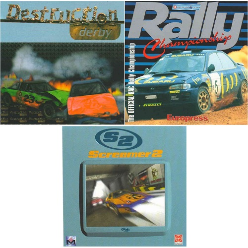3 PZ PC GAME - RALLY - ITALIANO