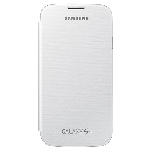 FLIP COVER SAMSUNG GT-I9505 GALAXY S4 WHITE