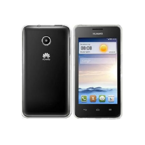 SILICONE CASE HUAWEI ASCEND Y330 WHITE