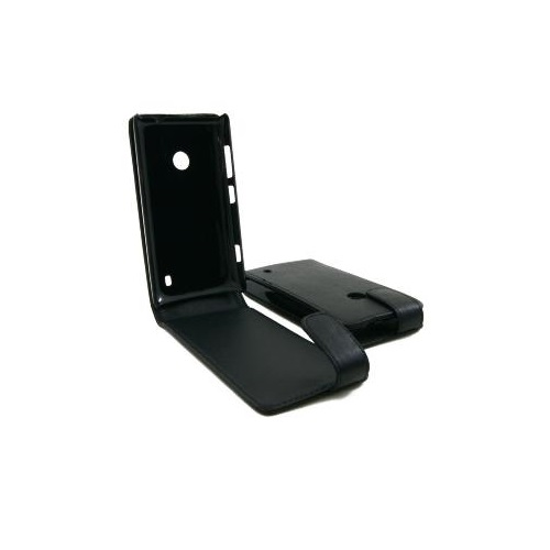 CUSTODIA ECO PELLE NOKIA LUMIA 520 BLACK