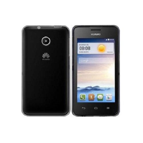 SILICONE CASE HUAWEI ASCEND Y330 BLACK