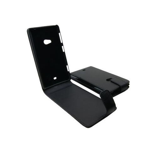 CUSTODIA ECO PELLE NOKIA LUMIA 625 BLACK