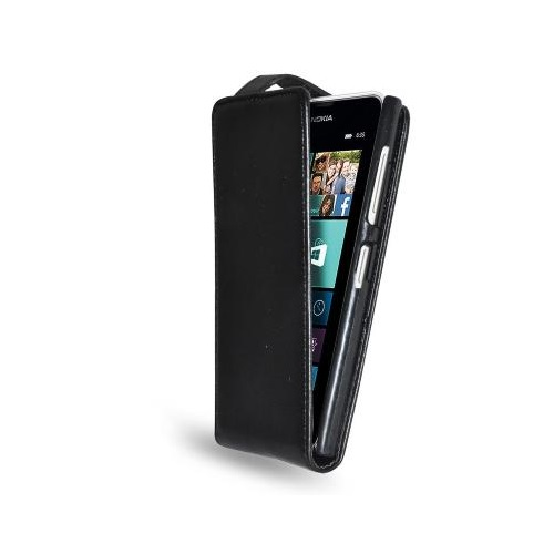 CUSTODIA ECO PELLE NOKIA LUMIA 630 BLACK