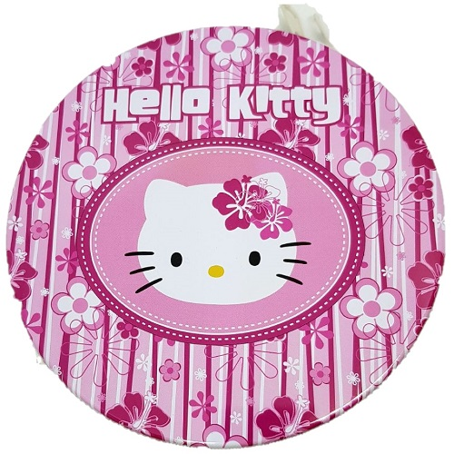 PORTA CD IN LATTA HELLO KITTY