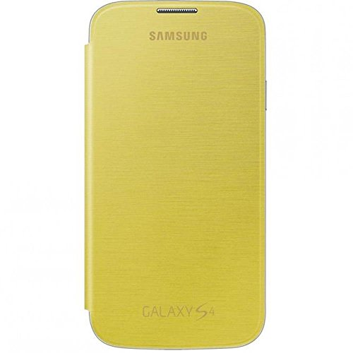 FLIP COVER SAMSUNG GT-I9505 GALAXY S4 YELLOW