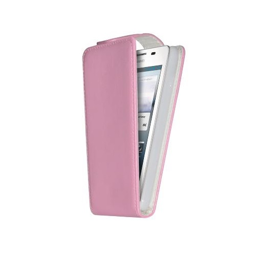 CUSTODIA ECO PELLE HUAWEI ASCEND G510 PINK