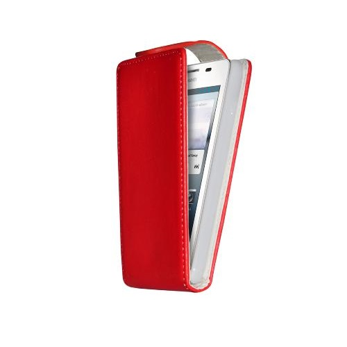 CUSTODIA ECO PELLE HUAWEI ASCEND G510 RED