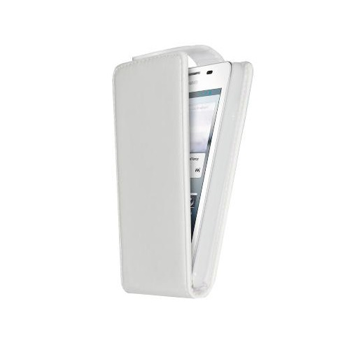 CUSTODIA ECO PELLE HUAWEI ASCEND G510 WHITE