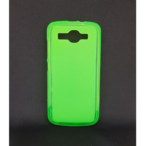 SILICONE CASE HUAWEI ASCEND Y520 GREEN