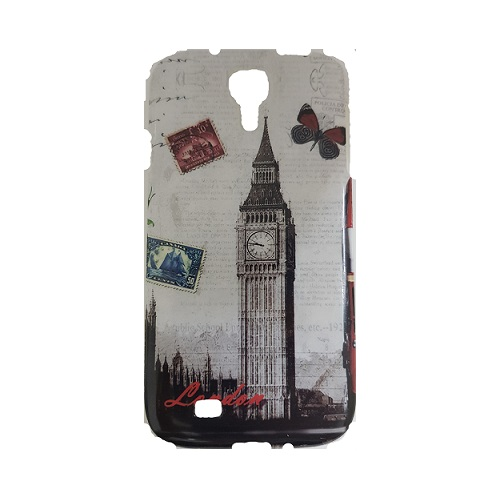 SILICONE CASE SAMSUNG I9505 GALAXY S4 LONDON GREY