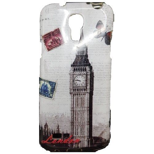 SILICONE CASE SAMSUNG I9195 GALAXY S4 MINI LONDON