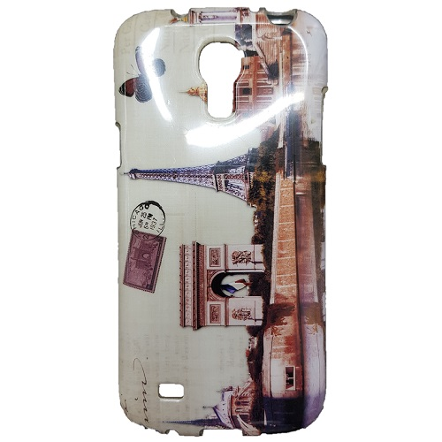 SILICONE CASE SAMSUNG I9195 GALAXY S4 MINI PARIS