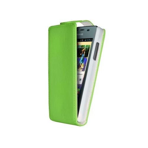 CUSTODIA ECO PELLE HUAWEI ASCEND Y300 GREEN
